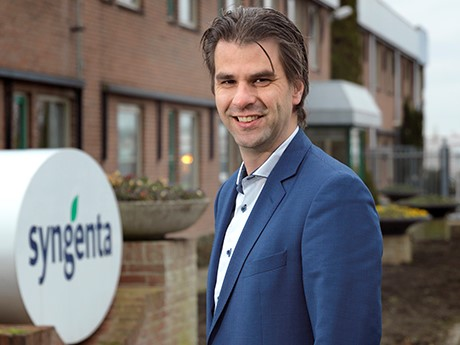 Michael van Baekel Marketing Manager Syngenta Flowers Business international