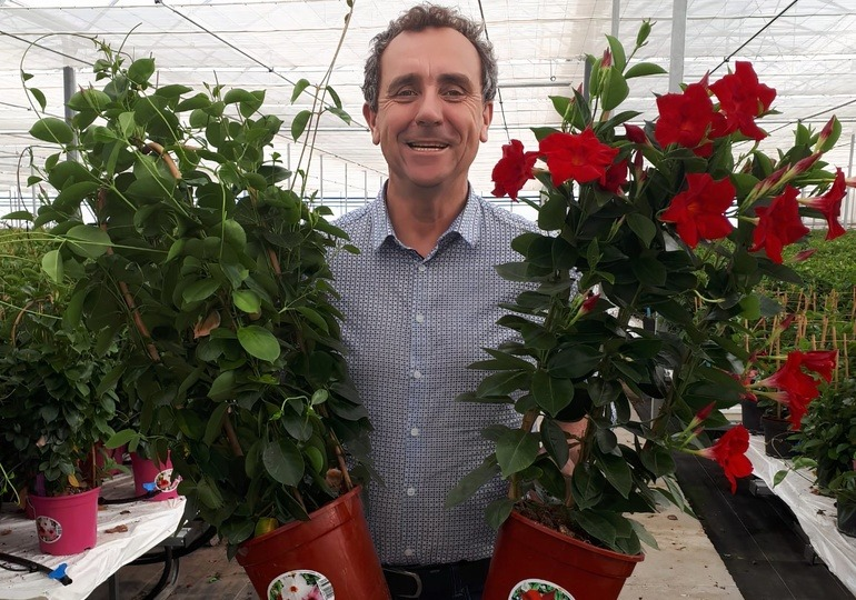 Tech Specialist Arnaud de Mortain with Mandevilla Rio