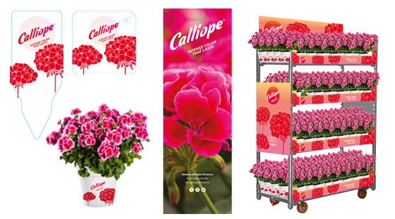 New POS material for Calliope