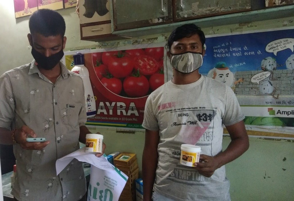 Indian farmers buying new Indi series hybrid marigold from Syngenta Flowers