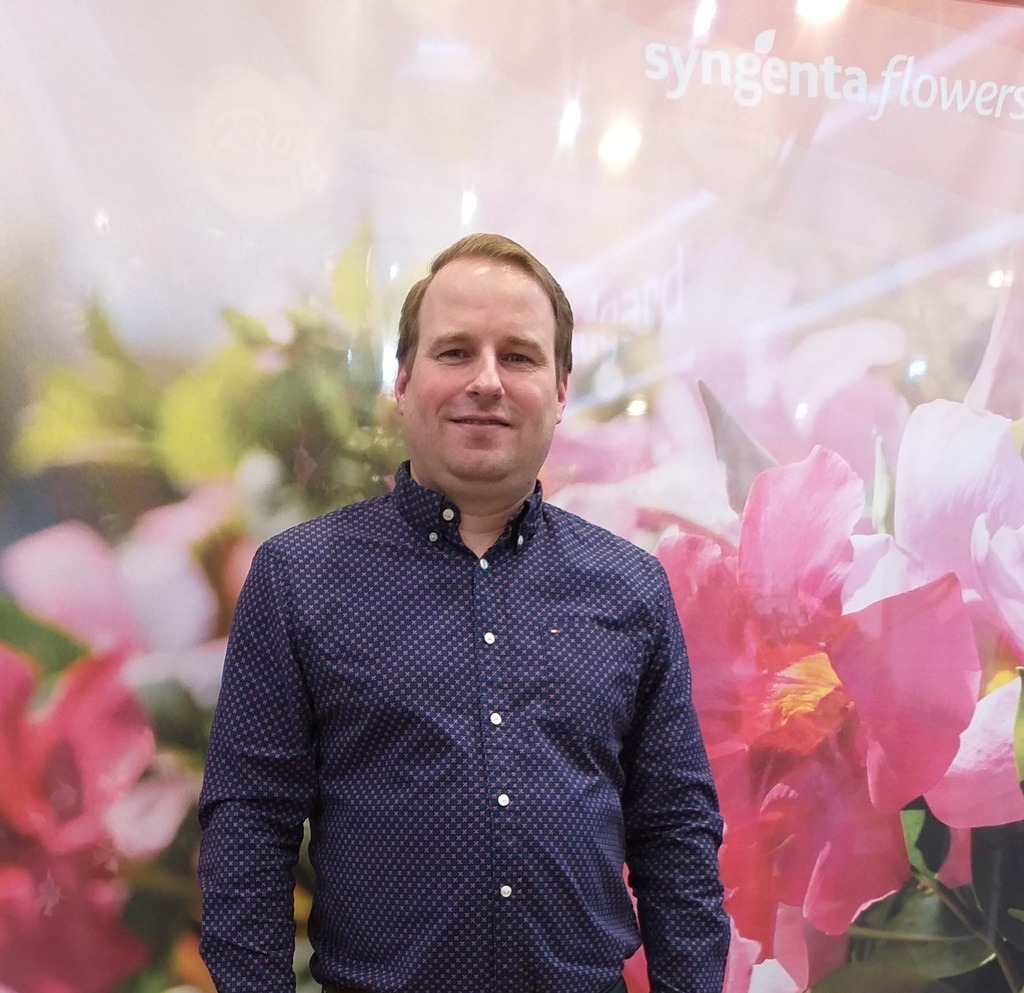 Syngenta Flowers Martijn Kuiper head of product management